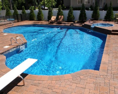 Inground pool cost inground pool prices in ground pool construction cost for Average cost of swimming pool inground