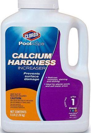 Pool Calcium Hardness Swimming Pool Chemistry Hard Water