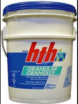 pool chlorine, granular chlorine, shock a pool, swimming pool care, basic pool care