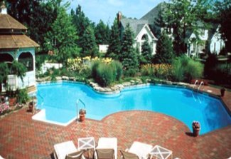 Swimming pool sizes costs designs financing plan custom for Swimming pool financing