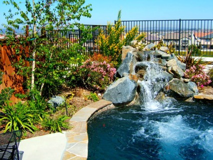 Swimming Pool Landscaping Ideas Pictures Backyard Rocks