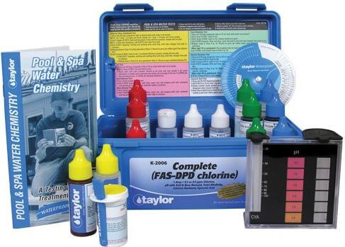 Understand Pool Alkalinity & Swimming Pool pH. Use A Swimming Pool Test Kit, Pool Acid & Baking Soda.