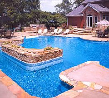 Inground swimming pool liners vinyl installing repair replacement for Average cost of inground swimming pool