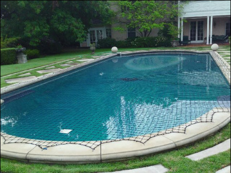 Swimming pool safety net and child swimming pool safety. Very important part of your pool safety is a strong pool net.