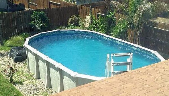 Cheap used swimming pools costs prices for above ground pools for Cheap swimming pools above ground