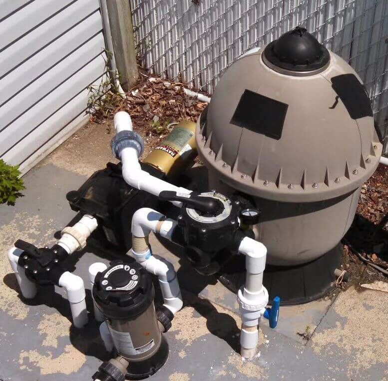 Sand Pool Filter & Your Pool Filter System.  Learn Sand Water Filters For Inground & Above Ground Pools.