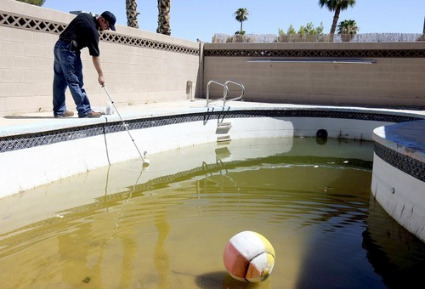 Rid Of Green Pool Water Killing Algae Swimming Pool