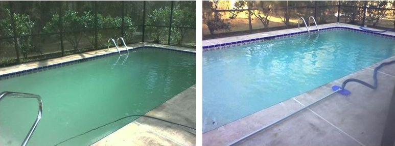 swimming pool care testimonies, basic pool care, inground pools, aboveground, green pools, algae green pool water