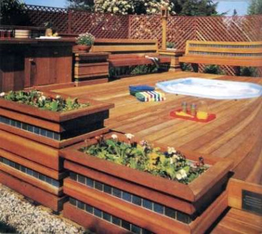 Above Ground Pool Deck: Build A Deck, Free Landscaping Ideas, Cost