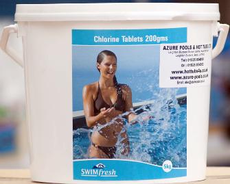 chlorine tablets,calcium hypochlorite,pool chlorine,swimming pool chemistry,swimming pool care,basic pool care,pool water maintenance, above ground swimming pools, inground swimming pools