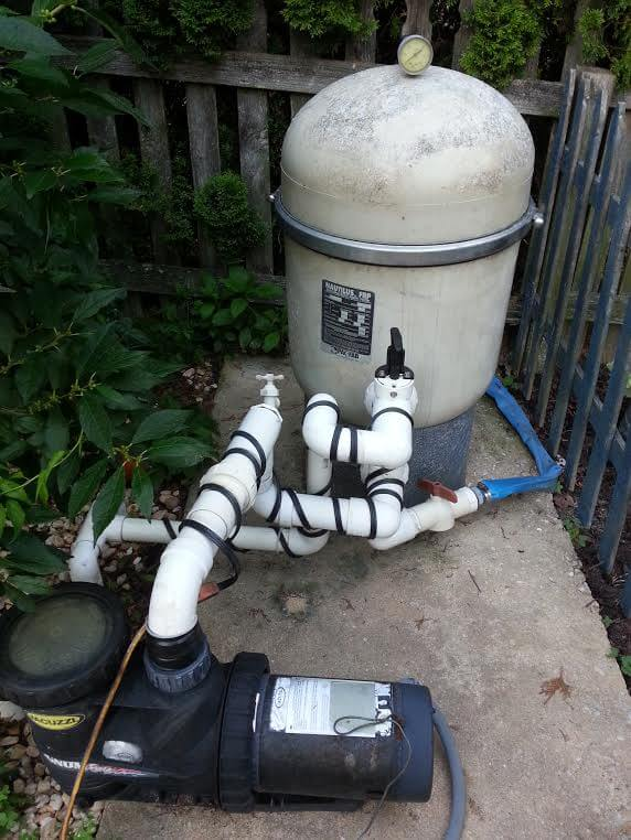 DE Pool Filter Maintenance