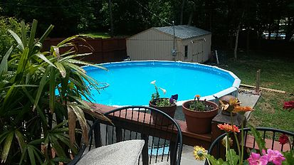 Easy Swimming Pool Landscaping Ideas