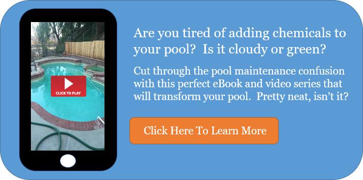 Easy pool maintenance