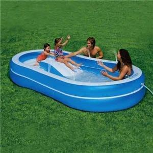 Intex sparynslide inflatable pool Plastic Swimming Pools