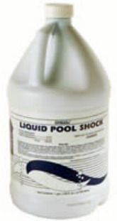 Sodium hypochlorite liquid pool chlorine bleach shock a - How long after you shock a pool can you swim ...