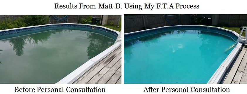 swimming pool care, basic pool care, above ground pool maintenance, inground, salt water, green pools, algae green swimming pool