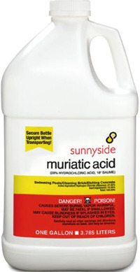 muriatic acid, swimming pool ph, swimming pool care, swimming pool care instructions,tips