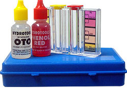 how to use pool test kit
