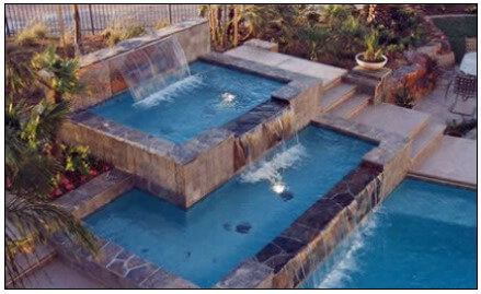 Swimming Pool Fountains & Water Features: Inground, Above ...