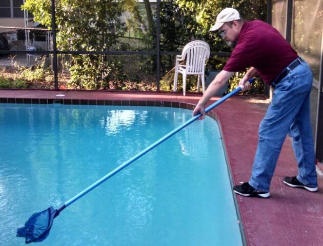 Pool maintenance cost and pool maintenance tips. The ultimate swimming pool care manual and guide for weekly pool maintenance and mistakes to avoid.
