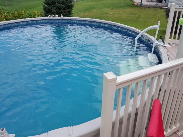 Cheap used swimming pools costs prices for above ground pools for Swimming pool cleaning service prices