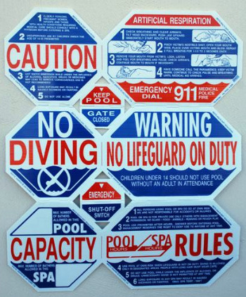 Swimming Pool Rules Safety Regulations For Child Water Safety