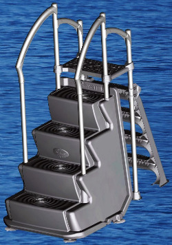 Above Ground Swimming Pool Ladders..Info. On Pool Ladders & What ...