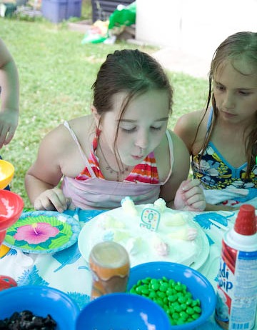 Swimming Pool Party Ideas Games For Children
