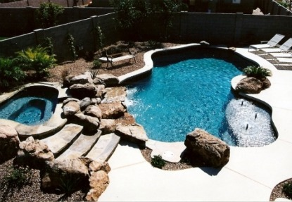 custom inground pools 1 In Ground Pool Cost