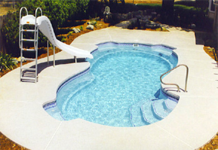 Fiberglass inground pools installation cost prices for Best type of inground pool