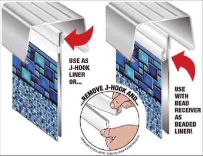 Inground Swimming Pool Liners Vinyl Installing Repair