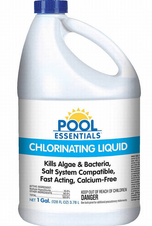 Swimming Pool Chlorine Maintenance Shock Adjust Levels Liquid