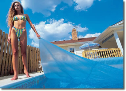 swimming pool solar covers, solar covers for pools, aboveground, in ground