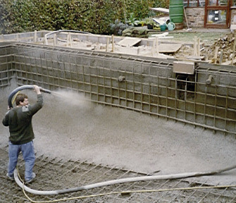 pool installation gunite 2 Pool Cost