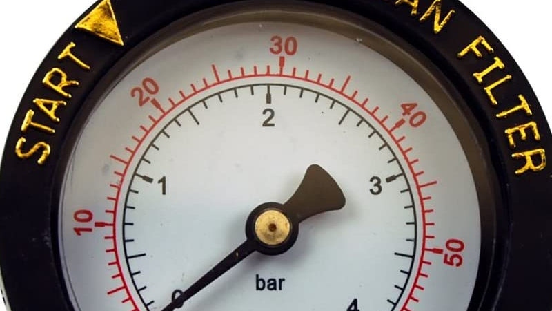 Understand Your Pool Filter Pressure Gauge