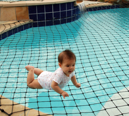 Winter swimming pool safety cover for inground above ground pool for Swimming pool safety covers inground