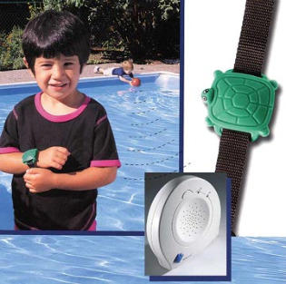 Safety Turtle Wristband Pool Alarm