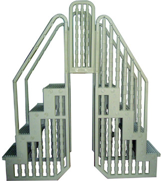 swimming pool steps, swimming pool steps ladders, swimming pool ladder, stair hand rails, swimming pool care, basic pool care