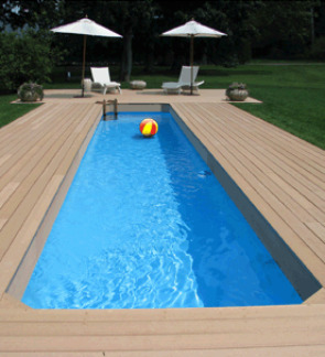 Lap Pools Above Ground Inground Fiberglass Exercise